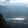 Invermere British Columbia With Mount Nelson In The Distance