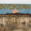 Inyokern Entrance Sign