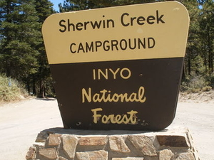 Inyo Sherwin Creek Campground