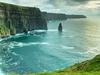 Irish Cliffs Of Moher - Sunset View