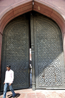 Iron Door Of The Main Entrance, Jama Masjid