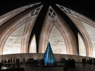 Islamabad     Pakistan  Monument By  Night