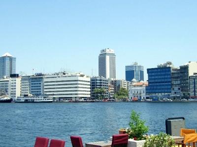 Izmir From  Konak  Pier