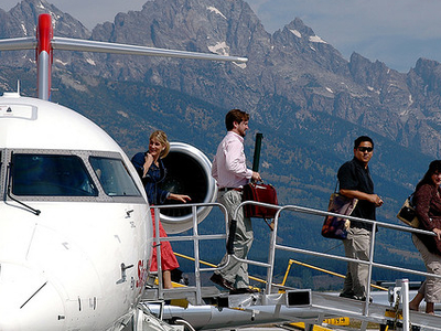 Jackson Hole Airport - Yellowstone - USA