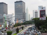 Jalan Sudirman Jakarta