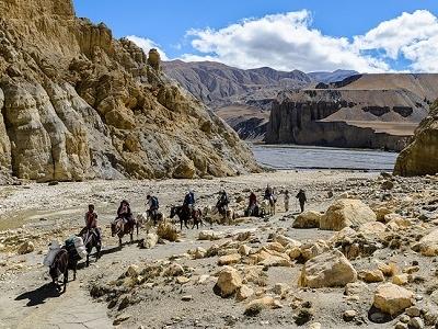 Kali Gandaki Valley - Mustang - Nepal Annapurna