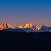 Kanchenjunga Range - Sikkim India