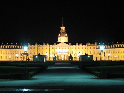 Karlsruhe  Germany  Castle By Night