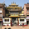 Kathmandu Boudhanath Entrance