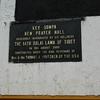 Key Gompa Prayer Hall Info Plaque