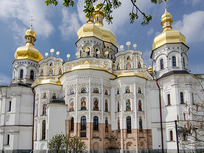 Kiev Pechersk Lavra - Monastery Of The Caves
