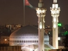 King Abdullah I Mosque At Night