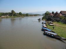 Kok River In Amphoe