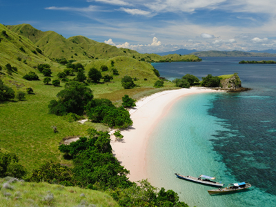 Komodo National Park Lagoon