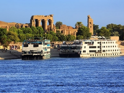 Kom Ombo On The Nile Near Aswan