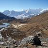 Kongde Ri From Solukhumbu Trail - Nepal Himalayas