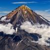 Koryaksky Volcano On Kamchatka Peninsula