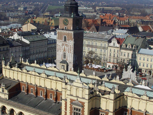 Krakow's Sukiennice (The Cloth Hall)