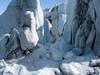 Stranded Icebergs Near Harding Icefield