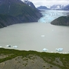 Kenai Glacier And Glacial Lake