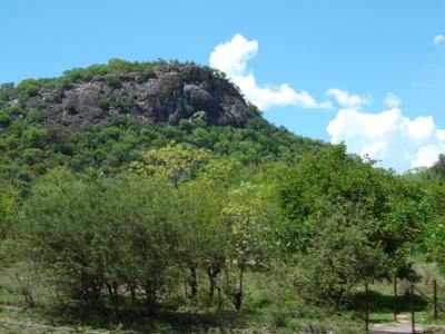 Granite Kopje Near Mbalabala