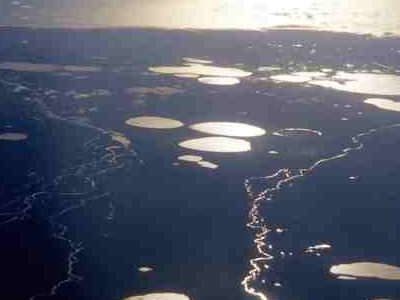 Great Koukdjuak Plains And Nettilling Lake