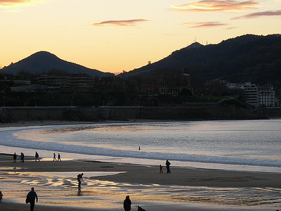 La Concha beach