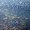 La Crescenta Montrose From The Air Looking North