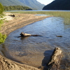 Lago Correntoso Playa