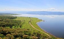 Lake Nakuru From Baboon Cliff