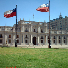 Front View Of La Moneda