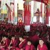 Left Statue Of Trijang Rinpoche Tutor