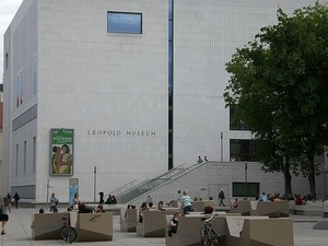 Leopold Museum Entrance Photos