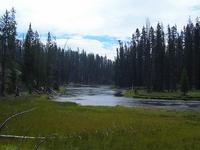 Lewis Channel / Shoshone Lake Loop Trail