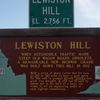 Lewiston Hill Sign