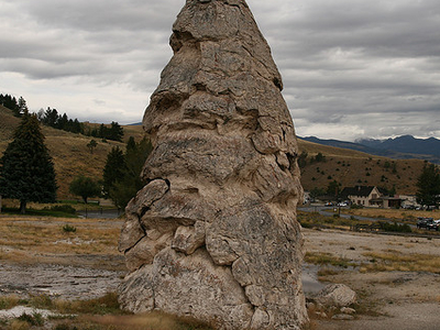 Liberty Cap - Yellowstone - USA
