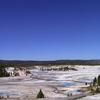 Link Geyser & Surrounding Region - Yellowstone - USA