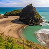 Lion Rock @ Piha Beach Near Auckland City NZ