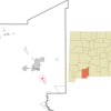 Location Of Mesquite New Mexico