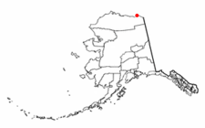 Location Of Kaktovik Alaska