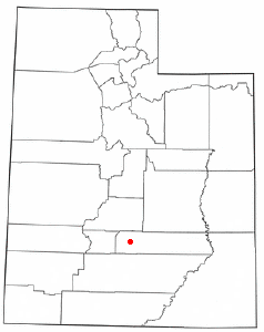 Location Of Bicknell Utah
