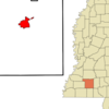 Location Of Brookhaven Mississippi