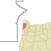 Location Of Cloverdale Oregon