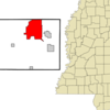 Location Of Corinth Mississippi