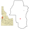 Location In Adams County And The State Of Idaho