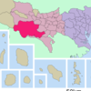 Location Of Hachiji In Tokyo