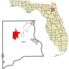 Location In Clay County And The State Of Florida