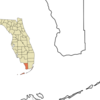 Location In Monroe County And The State Of Florida