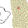 Location In Henry County And The State Of Georgia