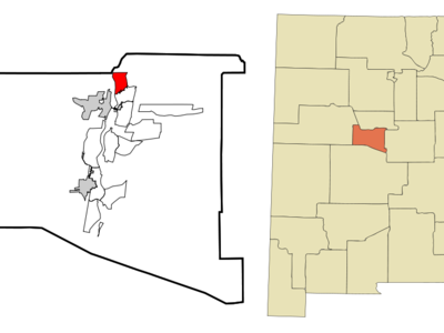 Location Of Bosque Farms New Mexico